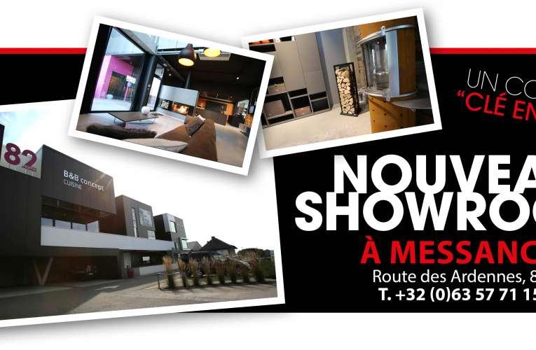 Nouveau show-room à Messancy