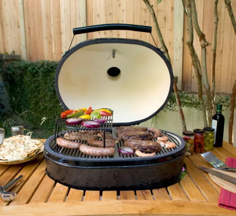 Barbecue Primo oval xxl série limitée Jack Daniel's