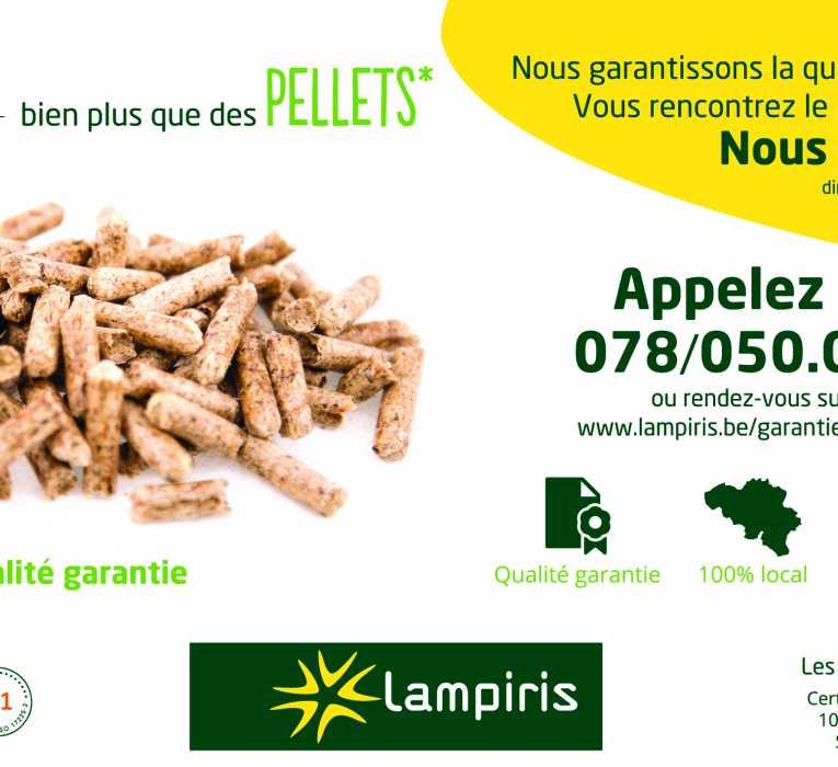 Palette de pellets - Lampiris