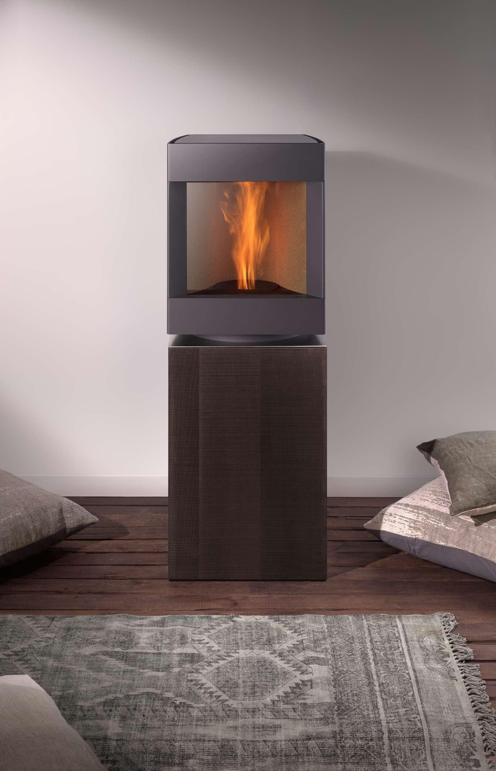 po les pellet stuv p 10 st v. Black Bedroom Furniture Sets. Home Design Ideas