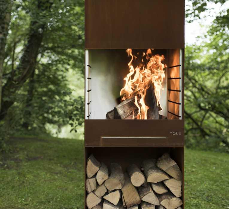 Feu de jardin/barbecue Tole K60 - Tole